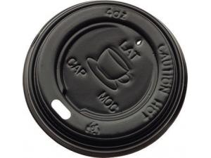 Leone tappo nero in plastica per bicchiere  ml 240 - pz 1000