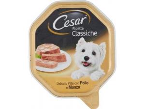 Cesar  patè per cane  varie ricette gr 150