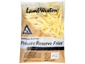 Lamb weston  patate 9x18 mm steakhouse kg 2,5