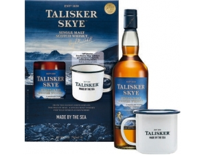 Talisker skye whisky astuccio cl 70 con poppa in omaggio