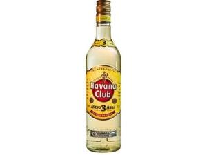 Havana club  anejo 3 años cl 70