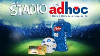 Allo stadio con Adhoc 2019