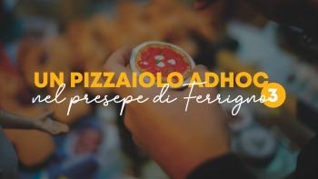 Un pizzaiolo Adhoc nel Presepe di Ferrigno - premiazione